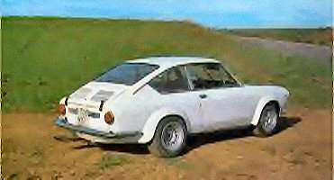 Abarth's 850 Coupe version